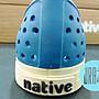 【URA 現貨】士林經銷 Native jefferson STADIUM BLUE 加拿大潮流鞋 希臘藍 奶油底 懶人鞋