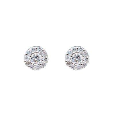 【JHT金宏總珠寶/GIA鑽石專賣】天然鑽石貼耳耳環/材質:PT900(JB51-A13)