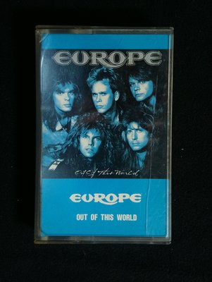 錄音帶/卡帶/AC71/英文/ 歐洲合唱團 Europe/世外桃源 out of this world/ 非CD非黑膠
