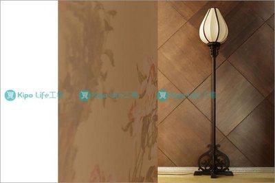 KIPO-中式傳統復古燈-手工蠶絲落地燈-梨木中式落地燈 NDF001107A
