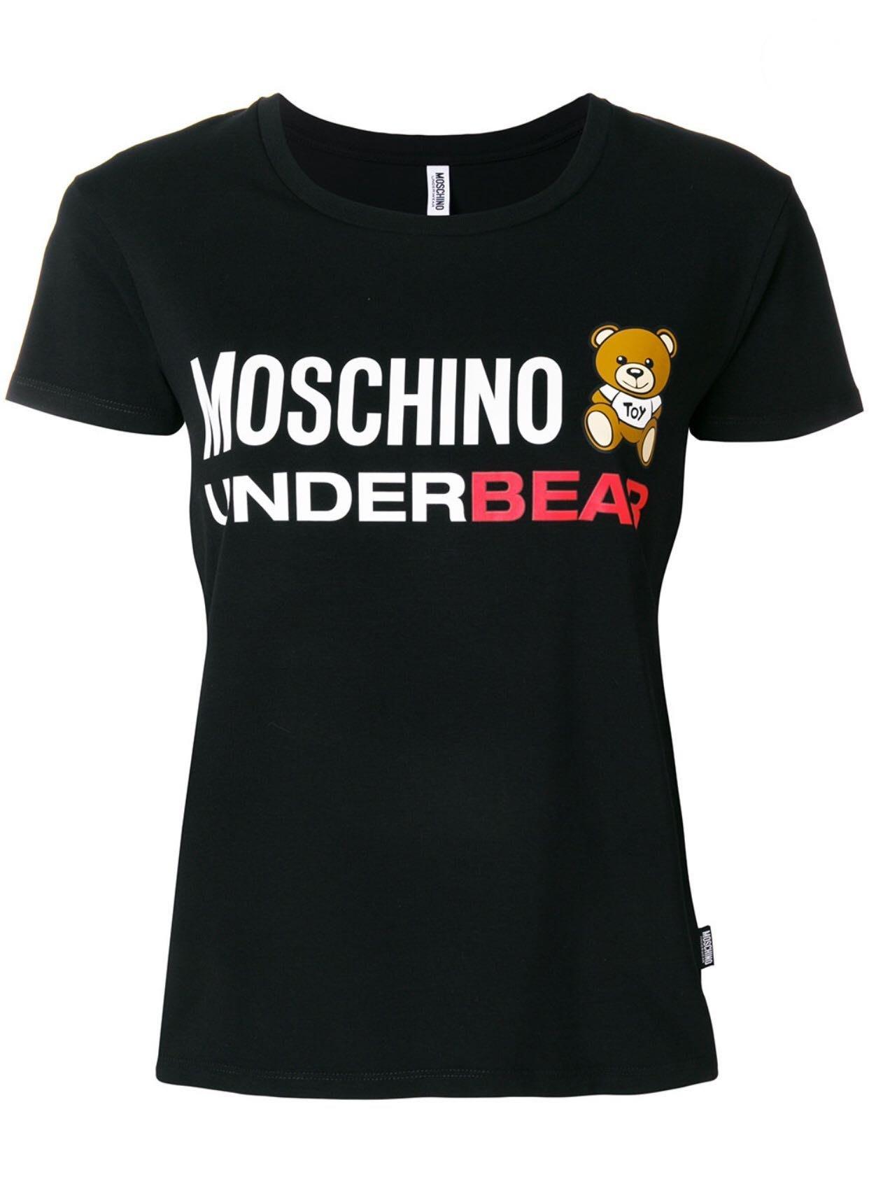 MOSCHINO UNDERBEAR T-SHIRT 玩具熊T恤