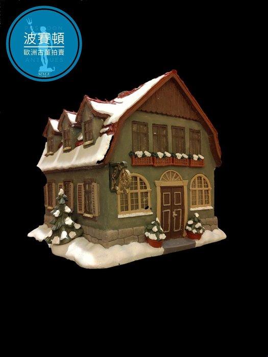 【波賽頓-歐洲古董拍賣】歐洲/西洋古董 德國舊物 大型喜姆娃娃房屋No1(M.I. Hummel Goebel)立燈 (尺寸:高15公分)(年份:約1990年)