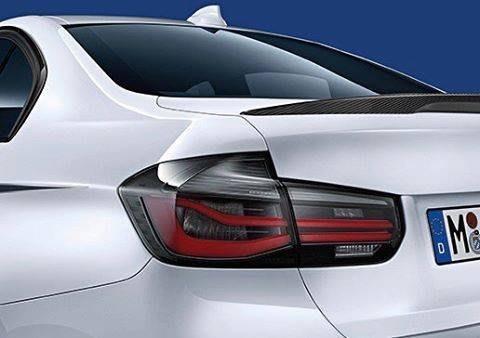 【樂駒】BMW 原廠 F30 F80 升級 LCI LED Black Line 燻黑 尾燈組 電子 改裝 套件