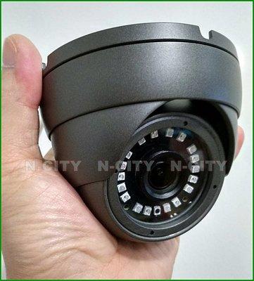 N-CITY(AT27)星光級Sony IMX307(逆光+超低照度)AHD-1080P紅外線半球攝影機(UTC)
