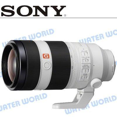 【中壢NOVA-水世界】SONY FE 100-400mm F4.5-5.6 GM OSS 公司貨 二年保固