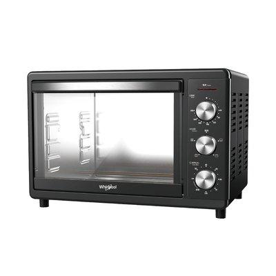 泰昀嚴選 Whirlpool惠而浦 18公升不鏽鋼機械式烤箱 WTOM181B 線上刷卡面手續 全省宅配到府 B