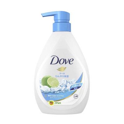 【JPGO】日本製 Dove 多芬 保濕沐浴乳 夏季數量限定 500g~涼爽薄荷#078