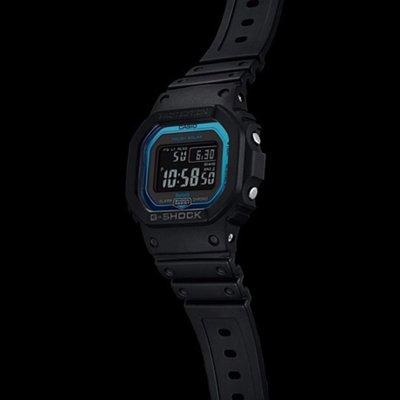 CASIO G-SHOCK GW-B5600 series GW-B5600-2 Bluetooth® 無線連接 電波受信機能 TOUGH SOLAR 光動能