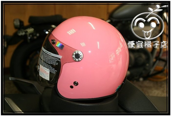 THH安全帽 FH359 3/4安全帽 (可刷國旅卡 ) 人身部品 安全帽  湖水粉@便宜橘子店@