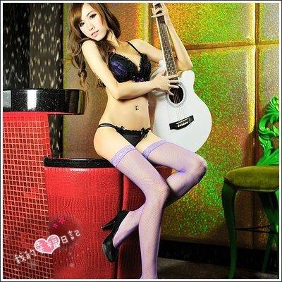 【惑☆夜東京】我的幸福日記.性感大腿網襪-神秘紫(小網襪) JA-24120726