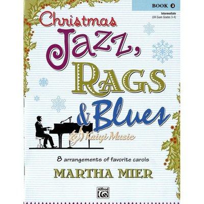 Kaiyi Music 【Kaiyi Music】爵士、散拍與藍調的聖誕節曲目Christmas jazz,rags&blues book 2
