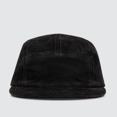 日本植鞣皮服飾鞋履品牌【HENDER SCHEME 】麂皮五分割帽 皮革可調式扣帶 球帽 棒球帽