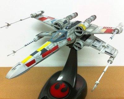 Bandai 星球大戰 Star Wars 1/48 X-Wing 專業上色完成品 (全隻噴槍上色唔用水貼~滲線~上灰~陰影)