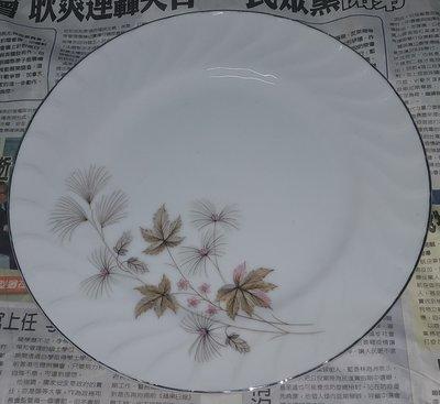 日本磁器 ROYAL SWIRL 楓葉大圓盤/大平盤。。大同同款花色