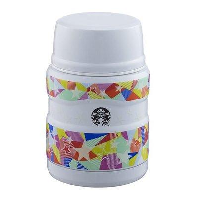 星巴克 星星夜光餐食罐 Starbucks 6/7上市 保溫罐 悶燒罐