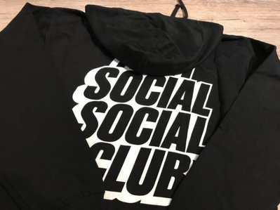 ☆LimeLight☆ ANTI SOCIAL SOCIAL CLUB BLOCKED HOODY 帽TEE