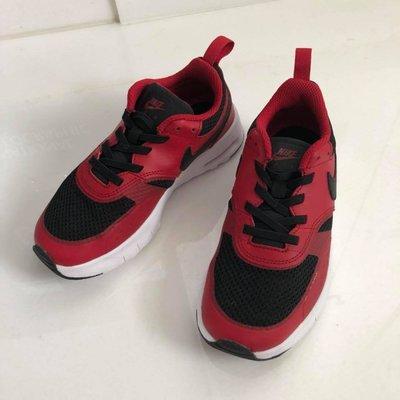 二手商品 九成新 專櫃正品 NIKE AIR MAX VISION 中童款 多功能氣墊運動球鞋 紅 (20cm) 免運費