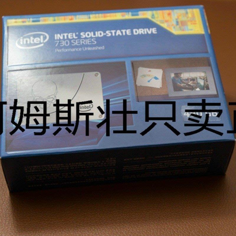 5Cgo【權宇】美版彩盒 Intel 英代爾 730 480G 480GB SSD 頂級 固態硬碟 正品全新未拆封 含稅