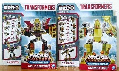 *玩具部落*樂高 美高 Kre-o 積木 變形金剛 電影4 人偶 可變形 2盒特價591元起標就賣一