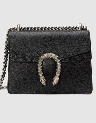 **Ohya精品代購** 2018 全新代購 Gucci 古馳Dionysus leather mini bag 421970
