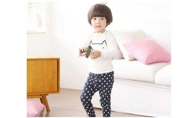 韓國童裝貓貓長袖睡衣家居服套裝 多碼 12個月起 開冷氣瞓必備