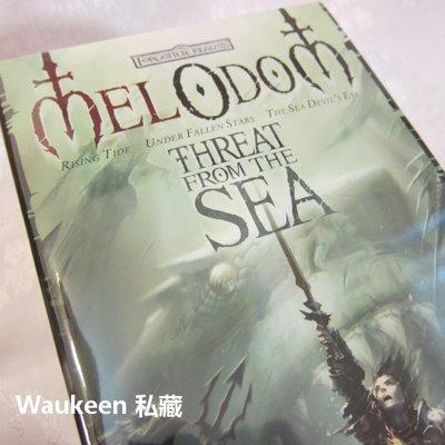來自深海的威脅 The Threat from the Sea Mel Odom 被遺忘的國度 D&D 龍與地下城