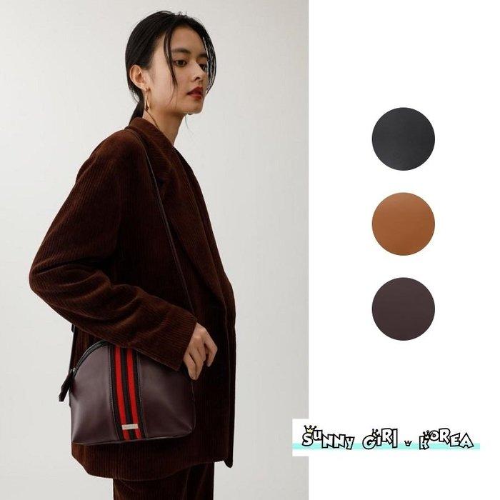 MOUSSY貝殼包*Sunny Girl*日本連線拼接皮革單肩包 2019十月新款 - [WB0523]