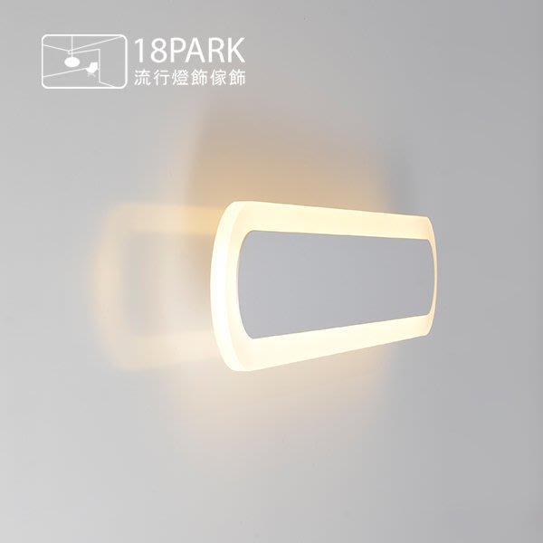 【18Park 】極簡大方 Line  [ 線道吸頂燈-長圓60cm ]
