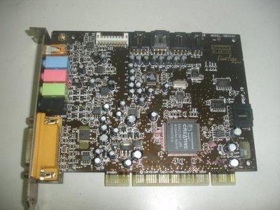 【電腦零件補給站 】創新未來 CREATIVE Sound Blaster SB0220 PCI音效卡