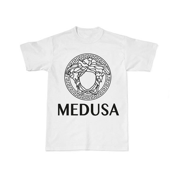 【HYDRA】THATSHITCRAY 翻玩 范思哲 梅杜莎 短T versace medusa tee S M