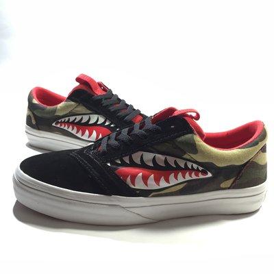 ☠[28.5cm] Losers Shark 4 Camo 迷彩鯊魚 vans converse bape apesta