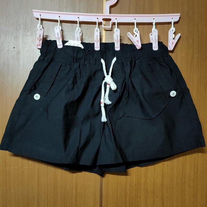 黑色 褲裙-M