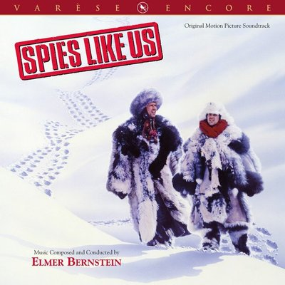 """要蘇俄吃癟 Spies Like Us""- Elmer Bernstein,全新美版,101"