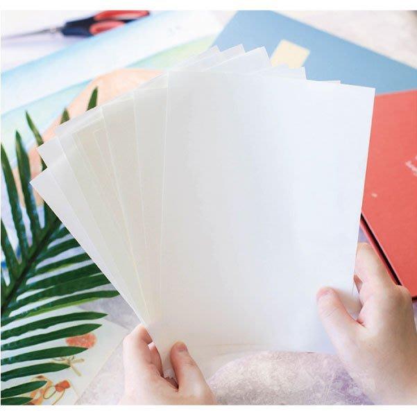 紙膠帶│A5尺寸離型紙@單面光滑讓紙膠帶更方便攜帶【BES大舖】