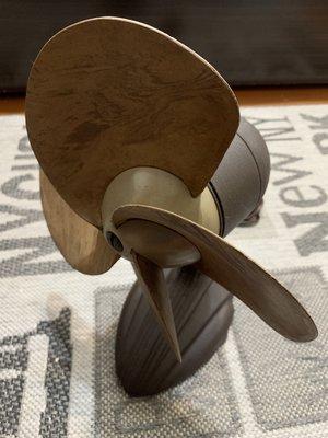 Vintage Deco Samson 1930's - 1940's 古董電扇 Safe- Flex Fan 收藏級
