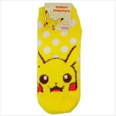 ☆彩虹棉花糖☆ 款@  Pokémon GO 寶可夢 神奇寶貝 皮卡丘 毛茸茸 保暖短襪 襪子
