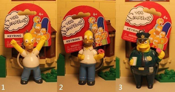 (I LOVE樂多)日本進口 正版辛普森家族Simpson人物鑰匙圈 送禮自用兩相宜