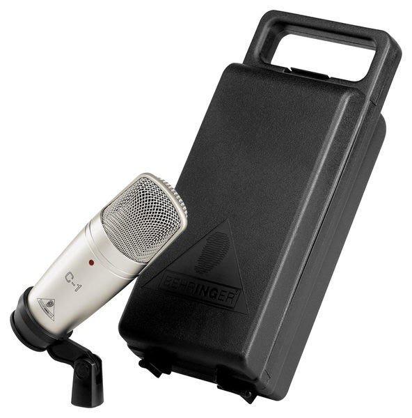 【六絃樂器】全新 Behringer C-1 耳朵牌 電容式麥克風 / 工作站錄音室 專業音響器材