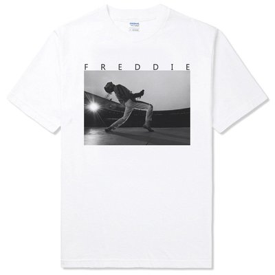 【快速出貨】FREDDIE MERCURY Live 短袖T恤 2色 皇后 樂團 波希米亞狂想曲