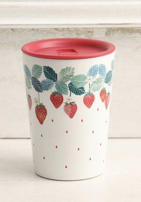 ?限量一只 ?日本 Afternoon Tea 草莓 不鏽鋼防燙口 隨手杯 保冰保溫杯 400ml