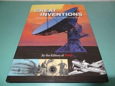 典藏乾坤&書---自然科學--GREAT INVENTION TIME ISBN1-9322273-03-4 !