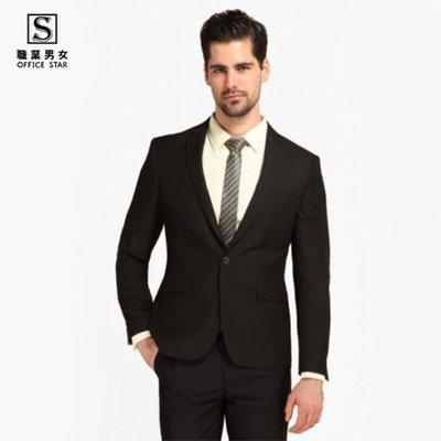 【90120】職業男女OFFICE ☆ STAR 基本款西裝外套 黑色