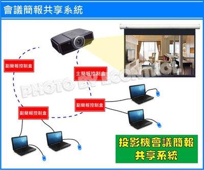 【易控王】 簡報會議共享系統-崁入式面板組 網路線延伸 影音 投影機共享 可達150M(50-600B)