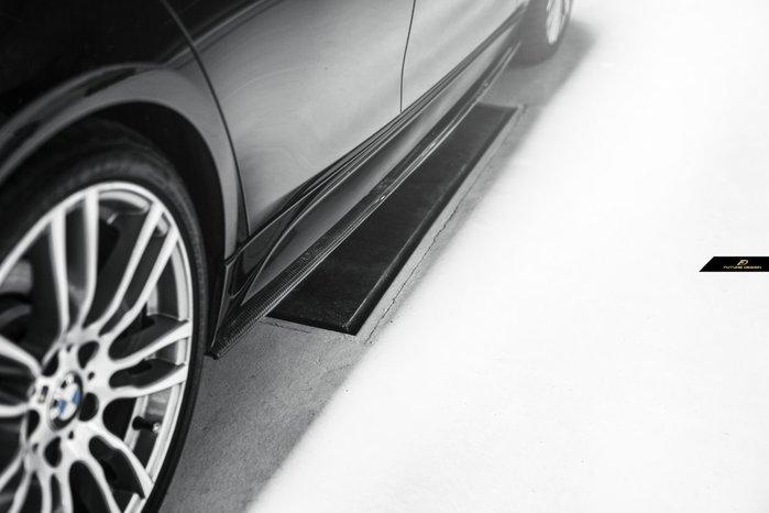 【政銓企業有限公司】BMW F30 F31 MTECH 專用 P 款 抽真空 卡夢  側裙定風翼 現貨 免費安裝