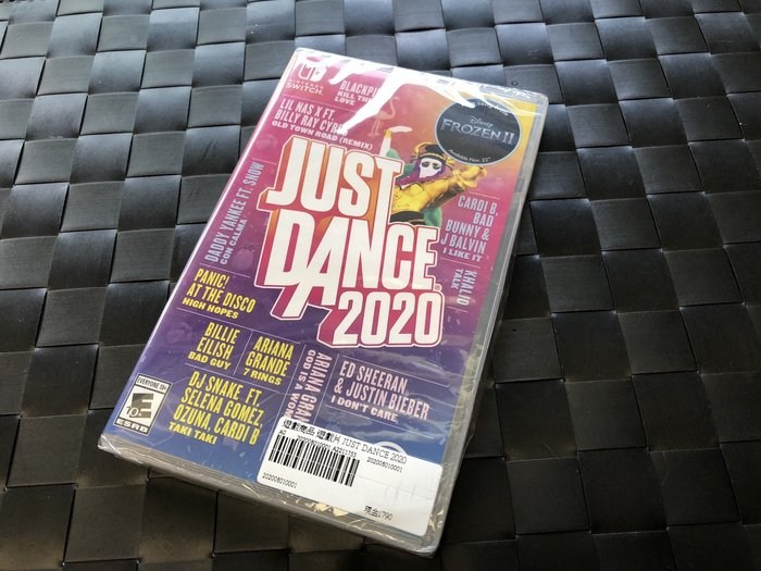 奇機通訊-(現貨) 台灣公司貨 Just Dance 舞力全開 2020 中英文美版