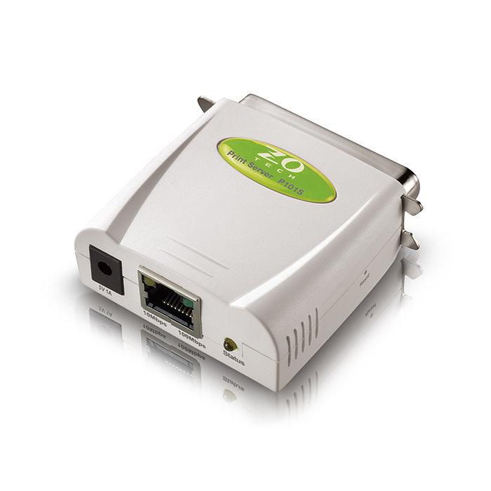 【AMY美美舖】ZO TECH P101S 平行埠印表伺服器(綠色)