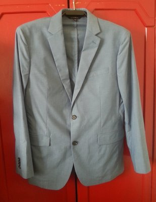 【BANANA REPUBLIC】水藍色西裝外套 40號
