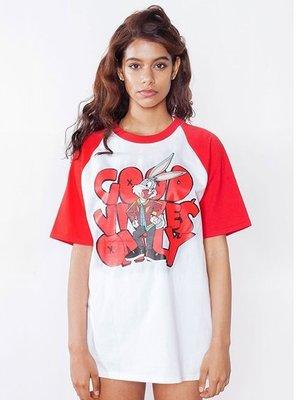 代購韓國品牌 GOOD VIBES ONLY BUGS_RAGLAN T-Shirt