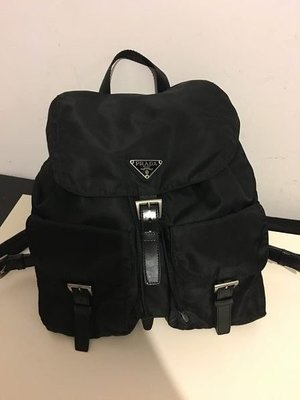 PRADA BACKPACK BAG背包clutch背囊wallet銀包pan-dora di-or mercibea33oup vintage hy-steric tiff-any旅行卡片套