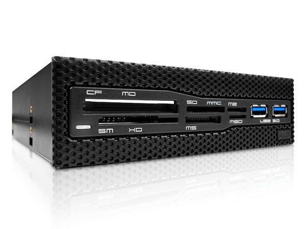 光華CUMA散熱精品*NZXT Aperture M 網狀面板設計USB 3.0 複合式讀卡機 庫存新品 特價出清~現貨